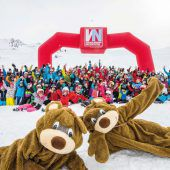 Kids Snow Fun auf dem Sonnenkopf
