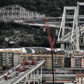 Abriss des westlichen Rumpfs der Brücke in Genua begonnen