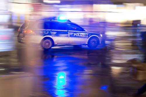 Die deutsche Polizei konnte den Tatverdächtigen im nahen Wangen stellen. polizei