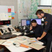 Notfallübung im Dornbirner Rathaus