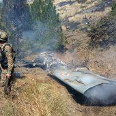 Militärflieger auf Kaschmir gestürzt