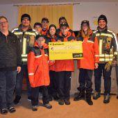 Feuerwehrjugend spendet 1700 Euro