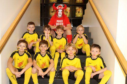 Die Nachwuchskicker des FC Hörbranz legten sich für ihre Balleinlagen am vergangenen Samstag ordentlich ins Zeug. chf