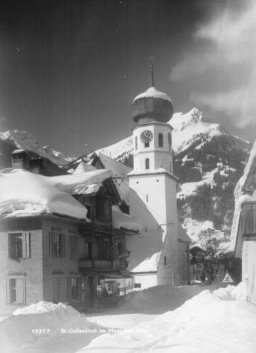 Die Pfarrkirche St. Gallus im Herzen der Gemeinde.