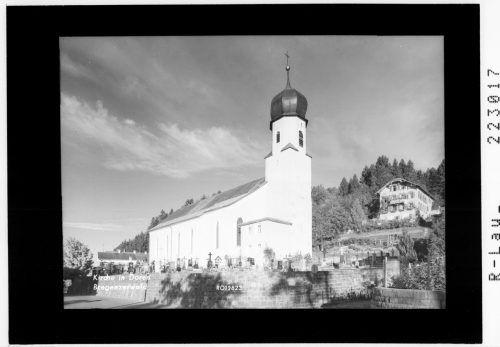Die Pfarrkirche wurdeim Jahr 1823 erbaut.