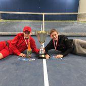 Tennisnachwuchs in Dornbirn
