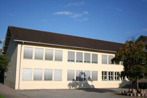 Die Volksschule Frastanz-Hofen wird demnächst dem Erdboden gleichgemacht.