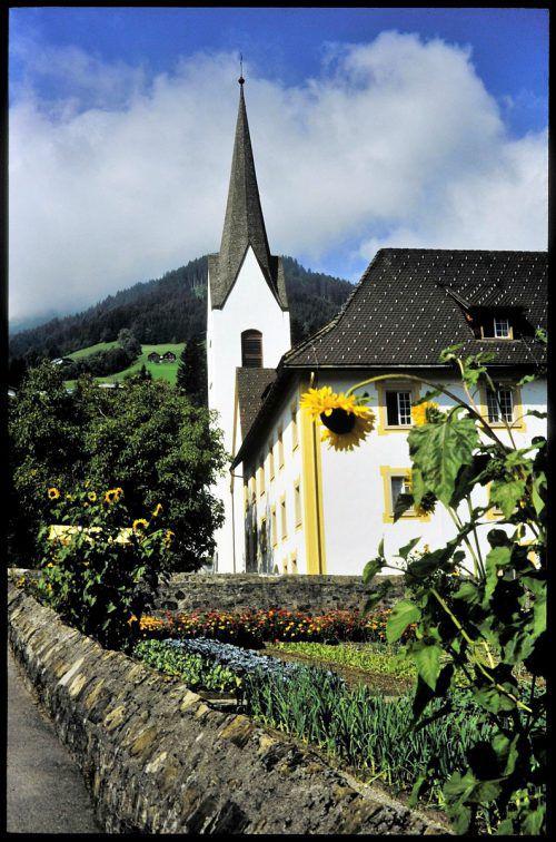 Diese ursprünglich romanische Kirche wurde 1313 geweiht.