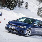 Dreierlei Winterfreuden mit VW