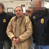 El Chapo verurteilt