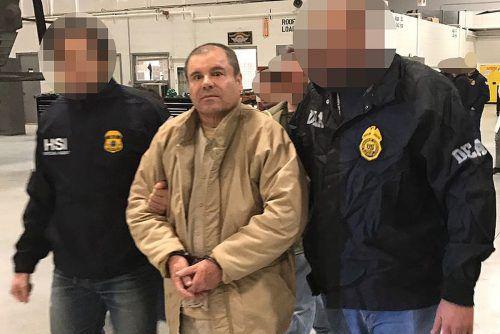 """Drogenboss """"El Chapo"""" wurde in New York schuldig gesprochen. AFP"""