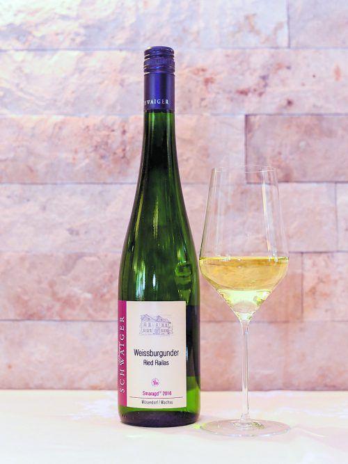 Ein ausgewogener Wein mit milder Säure vom Weingut Schwaiger.Oliver Lerch