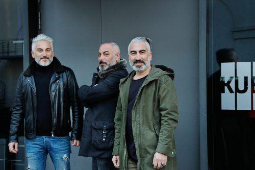 Erdal, Erdem und Ercan Cosan eröffneten das KUB-Café Anfang April 2019. KUB