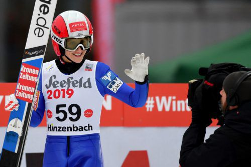 Eva Pinkelnig zeigte in Hinzenbachgute Leistungen. gepa