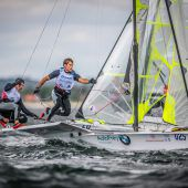 Auf Kurs in Richtung Medal Race
