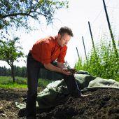 Komposthaufen statt Abfalldeponie: Wenig Biomüll in Vorarlberg