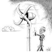 Rechte Windkraft!