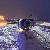 Blechsalat im Schnee