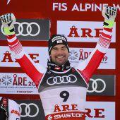 Vincent Kriechmayr holte mit Silber im Super-G Österreichs erste WM-Medaille. C1, 2