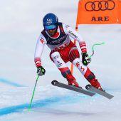 Marco Schwarz scheffelte mit Bronze die dritte Medaille bei der WM in Aare. C2,3