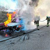 Feuer im Motorraum