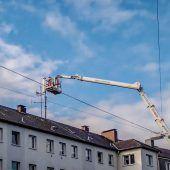 Antennenbau: 5G-Netz benötigt mehr als doppelt so viele Sendestationen. D1