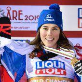 Erstes WM-Gold für die Slowakei durch Petra Vlhova. C1, 2