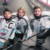 Trio spielte in Quebec
