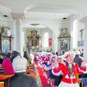 Bunte Faschingsmesse in Krumbach