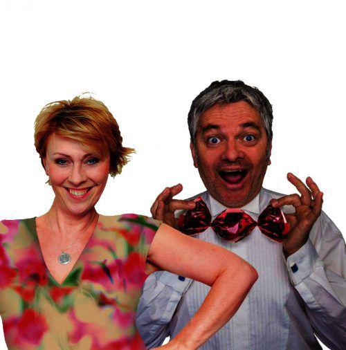 Gemischtes Doppel: Ein vergnüglich-humorvoller Abend mit den Kabarettisten Andrea Bongers und Werner Brix. HANDOUT/VERANSTALTER