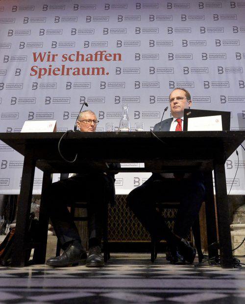 Geschäftsführer Christian Kirchner und sein Stellvertreter Othmar Stoss. APA