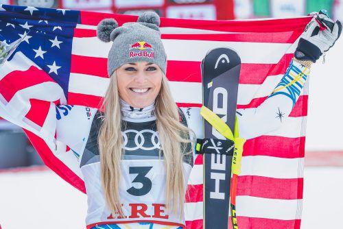 Head-Superstar Lindsey Vonn verabschiedete sich aus dem Skizirkus mit einer Bronzemedaille.APA