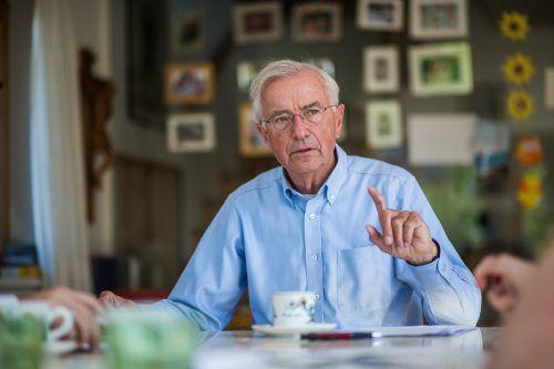 Herbert Sausgruber (72) wäre der Wunschkandidat des scheidenden Präsidenten Hubert Nagel. Für den Altlandeshauptmann ist das Amt jedoch kein Thema.Steurer