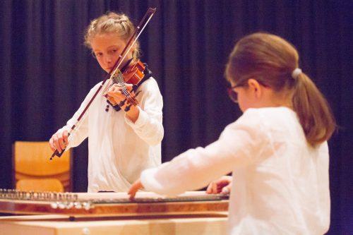 Im Mittelpunkt stehen heuer die Streicherkammermusik sowie die Kammermusik für Zupfinstrumente. VN/HB