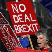 Theresa May gibt ihren Widerstand auf