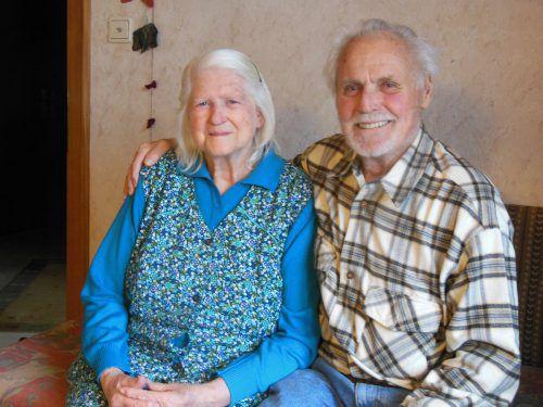 In den 60 Ehejahren meisterten Irmgard und Siegmund Müller gemeinsam das Leben. KL