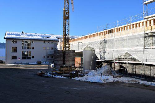 In die Umbaumaßnahmen in Lingenau werden rund 3,8 Millionen Euro investiert.