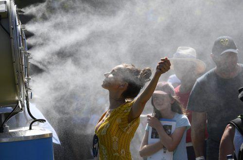 In Südaustralien kletterte das Thermometer bis auf 49,5 Grad. AP