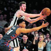 Starker Pöltl bei Spurs-Niederlage in New York