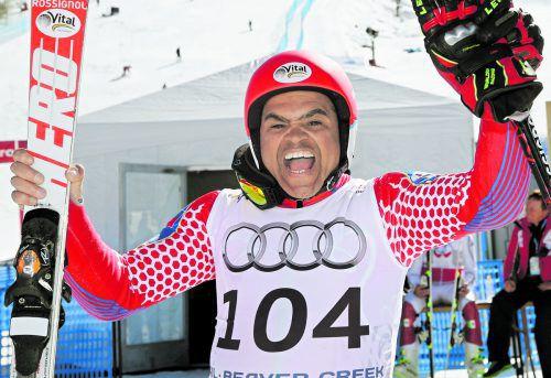 Jean-Pierre Roy aus Haiti versucht sich auch in Aare wieder in der Qualifikation. gepa