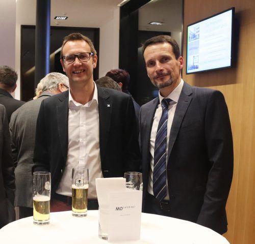 Jürgen Heinzle (Ärztekammer) und Christian Weiss (Bereichsleiter VGKK).