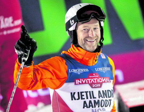 Kjetil Andre Ammodt ist mit zwölf Medaillen der erfolgreichste Teilnehmer an Ski-Weltmeisterschaften. gepa