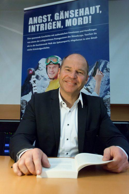 Kommenden Montag erzählt Marc Girardelli aus seinem Leben. VN/Paulitsch