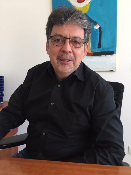 Lothar Bereuter bringt sich aktiv beim Netzwerk Familie ein.vn/mm