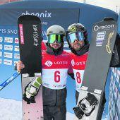 Lukas Mathiesmit Weltcup-Podest