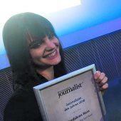VN-Redakteurin Magdalena Raos Journalistin des Jahres