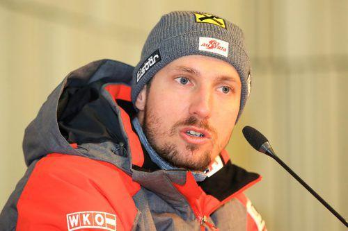 Marcel Hirscher ist im Slalom und Riesentorlauf Favorit auf Gold.