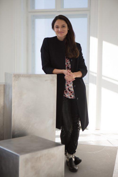 Maria Simma hat sich als Präsidentin der Künstlervereinigung in Vorarlberg bekannt gemacht. Ab 1. Oktober leitet sie das Feldkircher Kulturamt.VN/HK