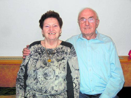 Marianne und Heinrich blicken auf 60 glückliche Ehejahre zurück. K. Lässer