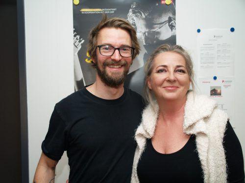 Martin Grabher und Waltraud Köttler waren bei der Vocal Night dabei.